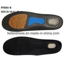 Nouvelle conception de haute qualité respirant absorber la semelle de sport de sueur (FF504-6)