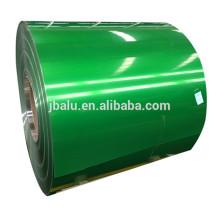 Fornecedor de Henan gongyi cor revestida de alumínio liso bobina