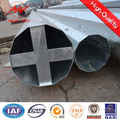 220kv Heavy Angle Transmission Galvanized Pole in South East Asia