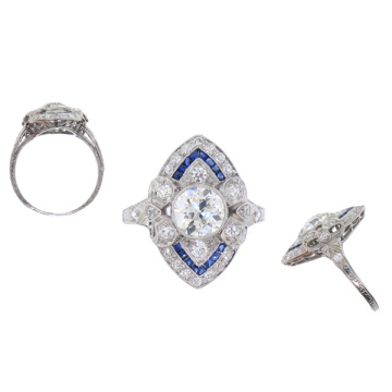 Fashion Jewelry 925 Silver Ring Jewelry Wholesale