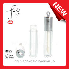 Cute Round With Hook Lip Gloss Container