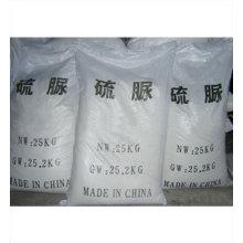 Thiourea el 99%, Thiourea el 99% mínimo, CAS no: 62-56-6, Thiourea cristalino blanco vendedor caliente de la alta calidad el 99% industrial