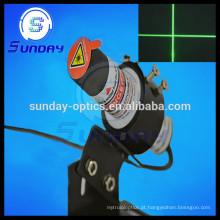 Módulo do laser da cruz 532nm, 1mw, 5mw, 10mw, 20mw, 50mw