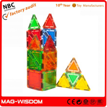 MagWorld 24 Piece Magnetic Tile Building Set