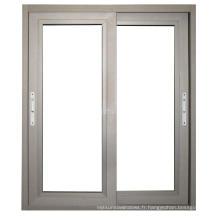 De Bonne Qualité Fenêtre en aluminium de fenêtre de guillotine de battement d'aluminium / aluminium