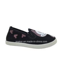 Enfriar la impresión de zapatos casuales para niños (H711-S & B)