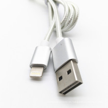 Cable de datos de carga USB reversible para iPhone 5s