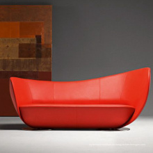 Peter Harvey New Design Fiberglas Echtleder Home Sofa