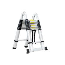 Escaleras retráctiles telescópicas de aluminio súper de 5 m