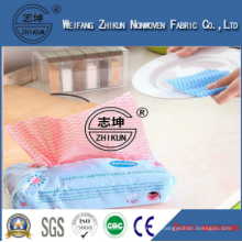 Spunlace Non-woven Fabric About Family Kitchen Clean Clean Wipes