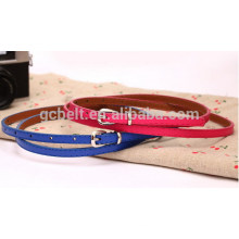Fashion PU garment belt