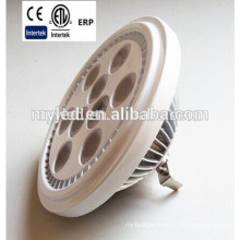 110*H71mm AC/DC 12V Hot Sale Led Lamp ar111 10W G53/GU10 CE RoHS Approval