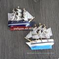Hot sale wooden ladybug custom 3d fridge magnets