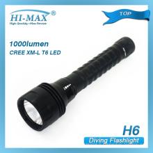 Cree XML-t6 LED Torch Lampe de poche pour la police