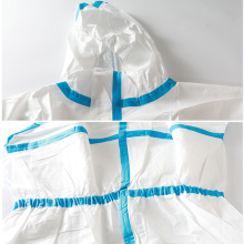 CE Protective Clothing Medical Suit Hood and Shoes Cover