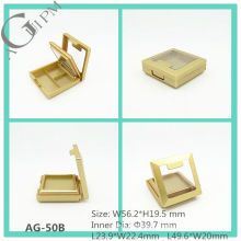 Plastic Rectangular Eye Shadow Case With Mirror&Window AG-50B, AGPM Cosmetic Packaging , Custom colors/Logo