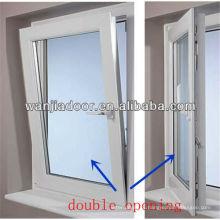 janelas penduradas dobro do pvc para a venda