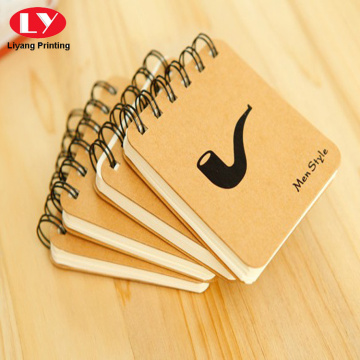 Hard cover kardus kustom mini notepad