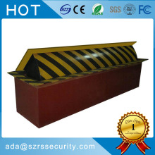 parking space automatic hydraulic road blocker