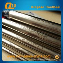 Tubo de acero inoxidable ASTM A249 para horno, condensador e intercambiador de calor