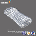 Inflatable air cushion column bag for toner cartridge