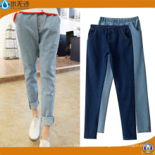 2018 New Fashion Stretch Skinny cintura alta Denim Jeans de las mujeres
