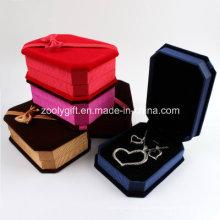 Tecido Anel / Pingentes / Colar / Pulseira Jóias Embalagem Gift Box