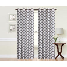 Traditional Style Jacquard Window Curtain Blackout