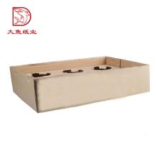 Usine OEM logo personnalisé recyclable affichage chinois en gros carton ondulé boîte