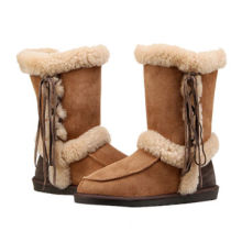 Women's Sheepskin, Classic Winter Boots, Thick Inner Fleece, Comfortable Shoes for Cold