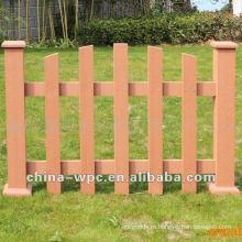 WPC забор композитный снаружи