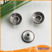 Botão feito sob encomenda Jean do metal Botons BM1352