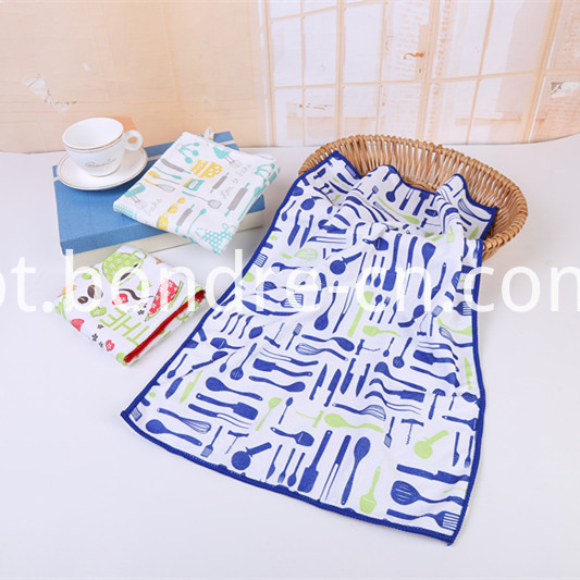 Printed Assorted Towels Pack (4)