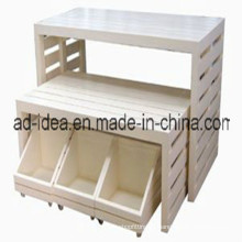 Display Stand/Wooden Display Stand/Make up Display Stand/Rotating Display Stand (AD-130503)