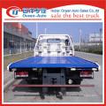 Dongfeng 4ton un remolque dos camiones grúa de venta