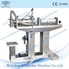 Machine de remplissage de parfum semi-automatique pneumatique en acier inoxydable