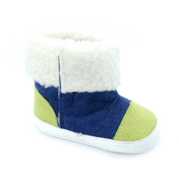 Wholesales Colorful Cotton Baby Boots