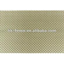 Tissu d'argent / maille argentée / tissu de fil d'argent / tissu de polissage d'argent / fil d'argent pur