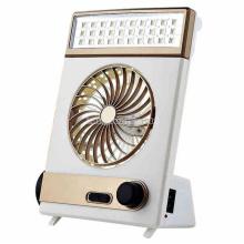 Mini Rechargeable Fan, Multifunctional LED Fan