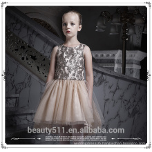 Little Girls Party Dress with Lace Cake Lovely Shape for 1-5 Years Old Baby Girls Clothes ED669