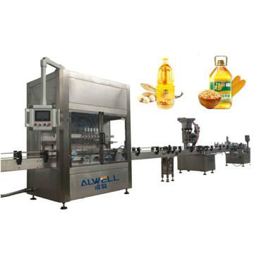 Automatic Peanut Rapeseed Soybean Coconut Oil Bottle Filling Machine