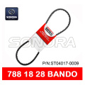 BANDO DRIVE BELT V BELT 788 x 18 x 28 SCOOTER MOTORCYCLE V BELT CALIDAD ORIGINAL