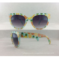 New Fashion Injection Woman Sunglasses with Acrylic Lens P02010