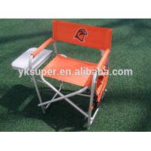 600D Оксфорд ткань алюминиевый портативный складной досуг директор пляжный стул