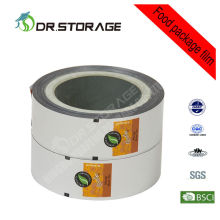 Pet12 /mpet12 Personalized Laminated Food Flexible Packaging Films Wrapping Roll For Cream