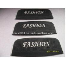 Correctif de PVC pour le logo de société 2015 en gros en relief et en caoutchouc gaufré en caoutchouc de label