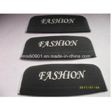PVC Patch for Company Logo 2015 Wholesale Embossed and Debossed Transparent Rubber Label