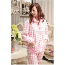 As mulheres mais baratas por atacado Warm terno pijama para Homewear inverno