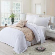 Canasin Classic 1cm striscia Hotel lino 100% cotone bianco