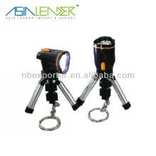 Plastic led light lantern keychain flashlight
